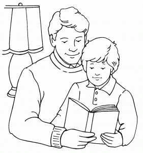 281x300 Free Coloring Pages Of Parents Day Coloring Pages Parent Day
