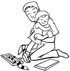 236x240 Image Result For Father Daughter Drawing Dad And Daughter