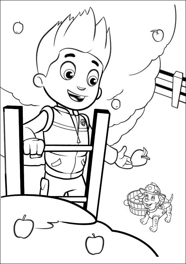595x842 Paw Patrol Coloring Pages Let Your Kids Explore Their Creative Side