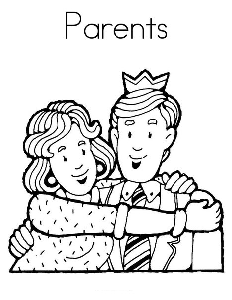 468x605 Parents Day Coloring Pages Parent Day Coloring Pages Free (8