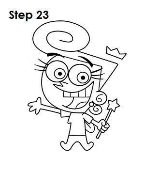 300x388 Wanda Fairly Oddparents 23 How To Draw Cartoon