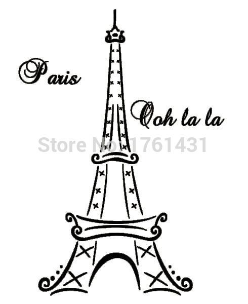 490x600 Buy Eiffel Tower Paris France Ooh La La Wall