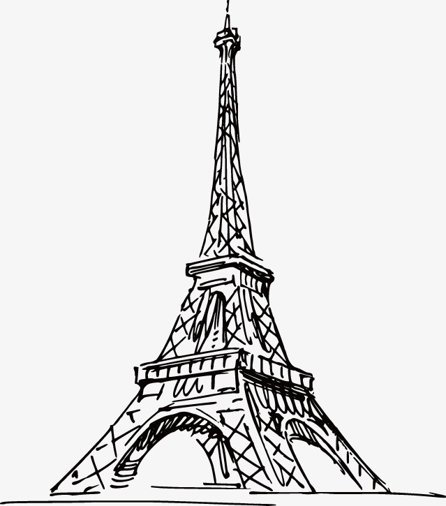 639x725 Hand Painted Artwork Eiffel Tower In Paris, Hand Painted, Paris
