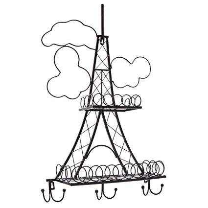425x425 Decorative Stylish Black Metal Paris Eiffel Tower