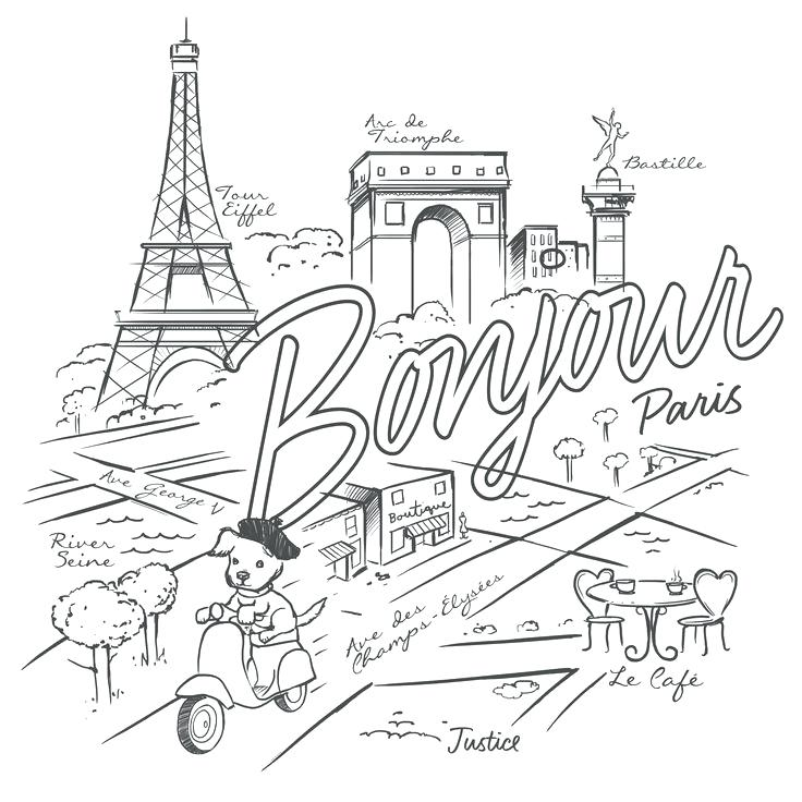 736x736 Paris Coloring Sheets Coloring Sheets Paris France Nzherald.co
