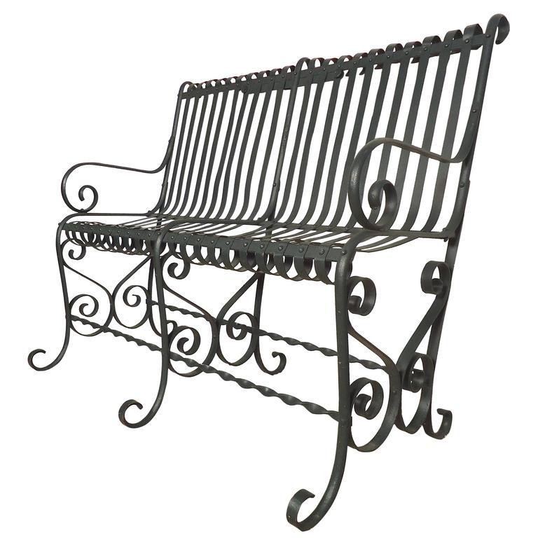 768x768 Beautiful Vintage Park Bench For Sale