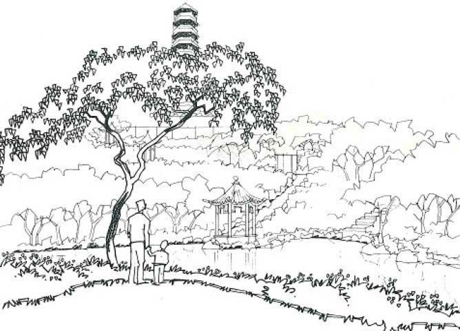 668x480 Yuen Long Town Park Landscape Architecture