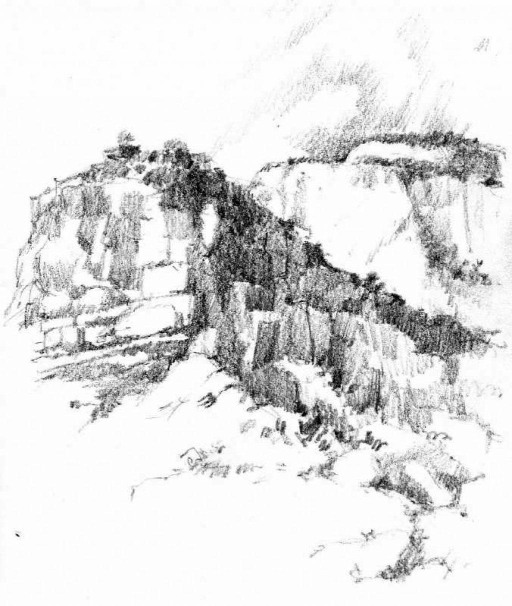 1024x1211 Zion National Park Sketchbook Roland Lee
