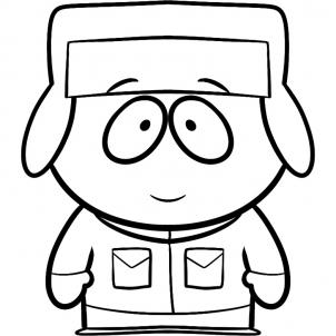 302x302 How To Draw Kyle From South Park Step 6 South Park
