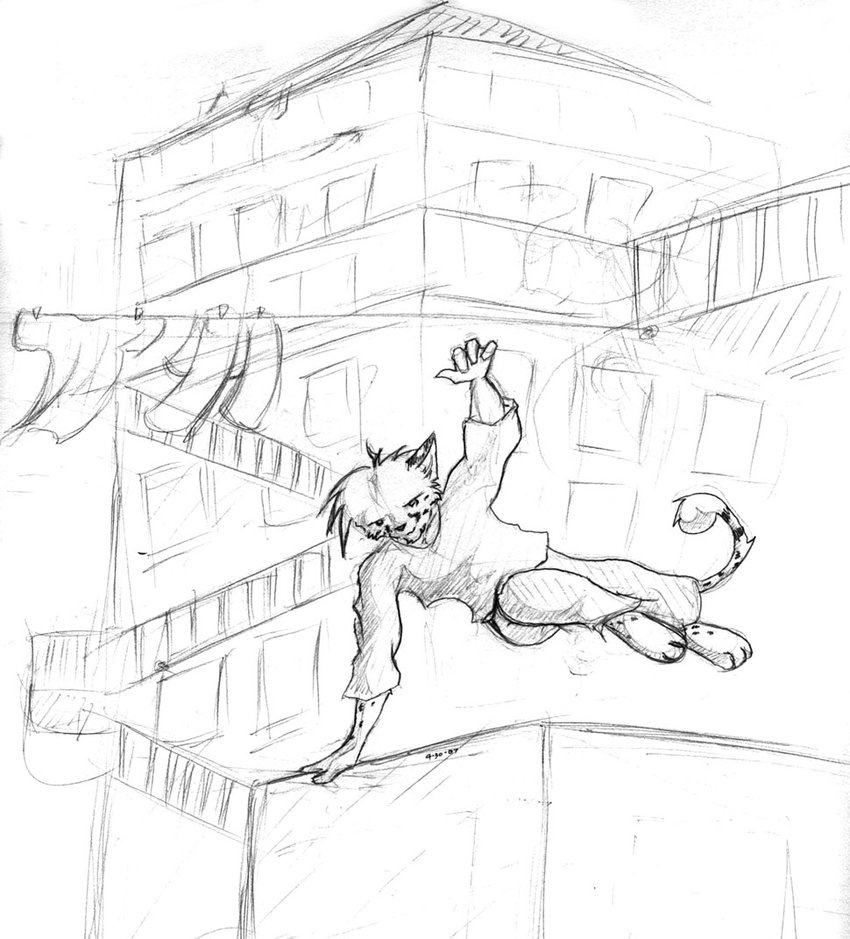 850x939 Parkour By Shadowcheetah