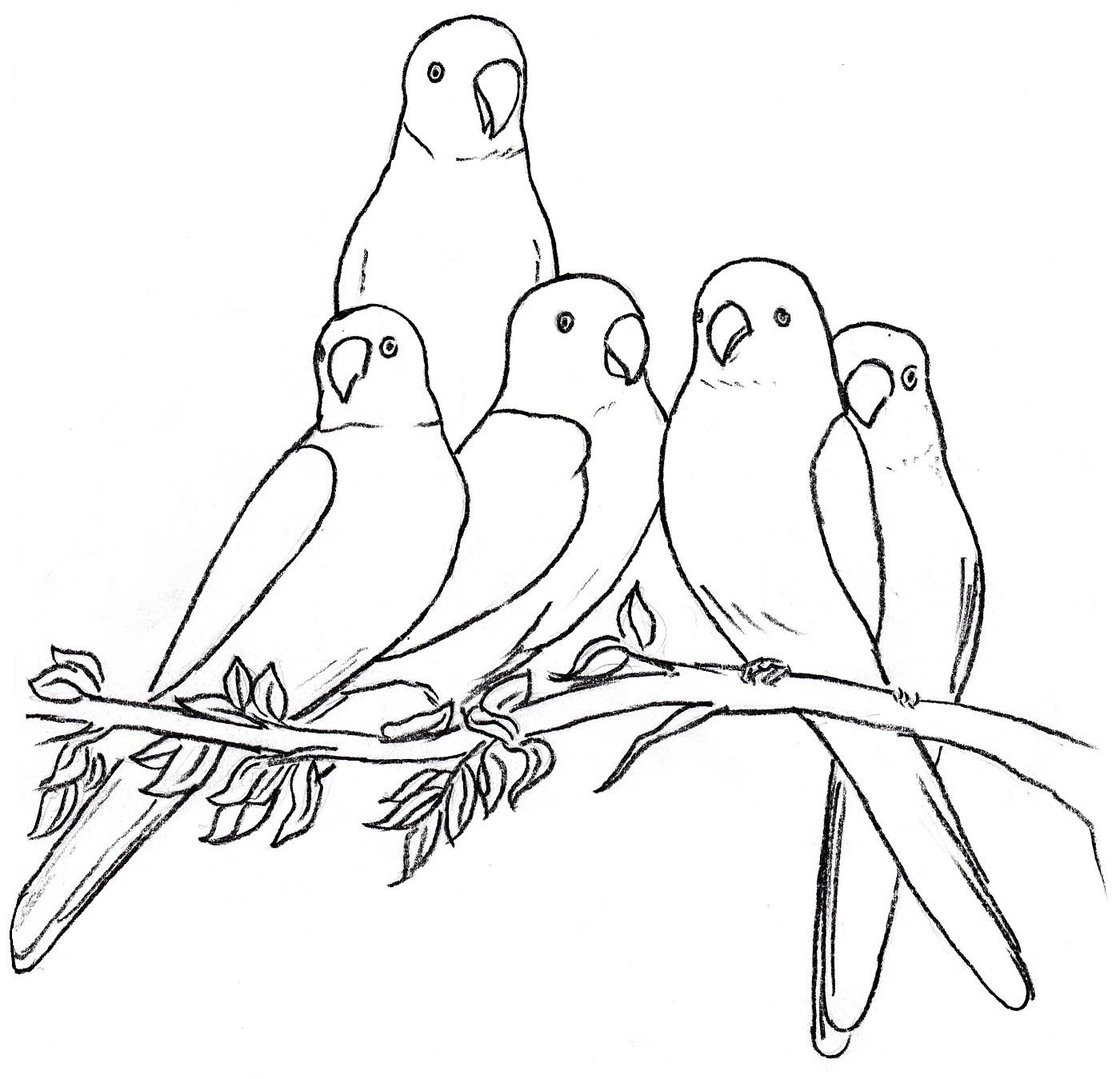 1400x1349 Bird 3 Bird, Glass Painting
