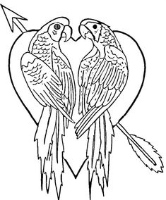 235x284 Free Parrot Coloring Pages Animal Coloring Pages