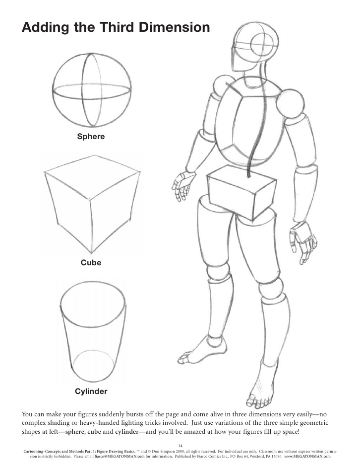 It is a picture of Delicate Figure Drawing Basics