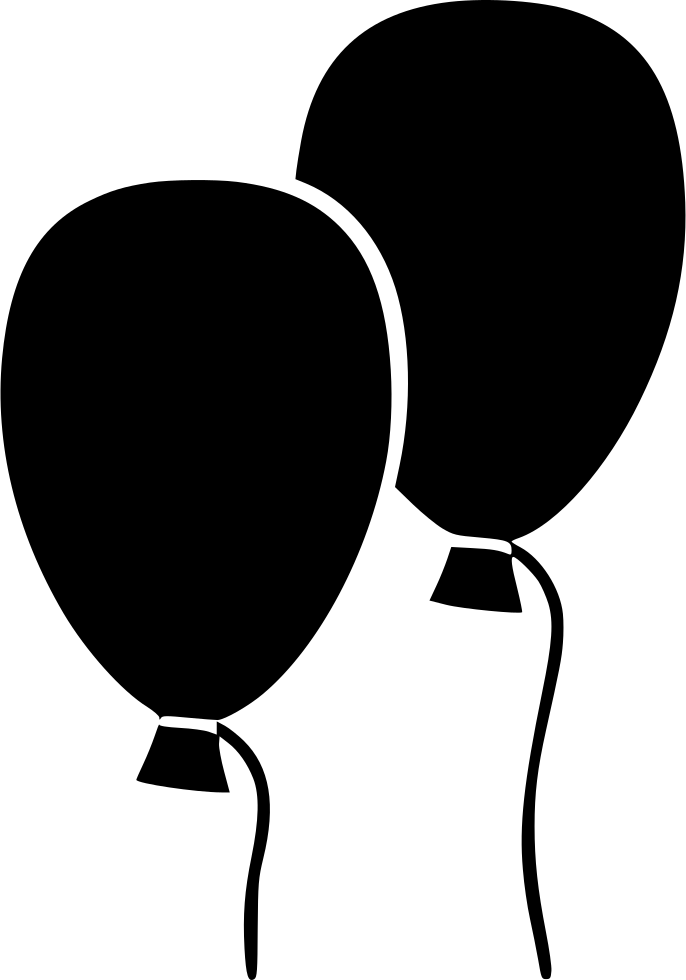 686x980 Balloon Party Balloons Svg Png Icon Free Download ( 548696