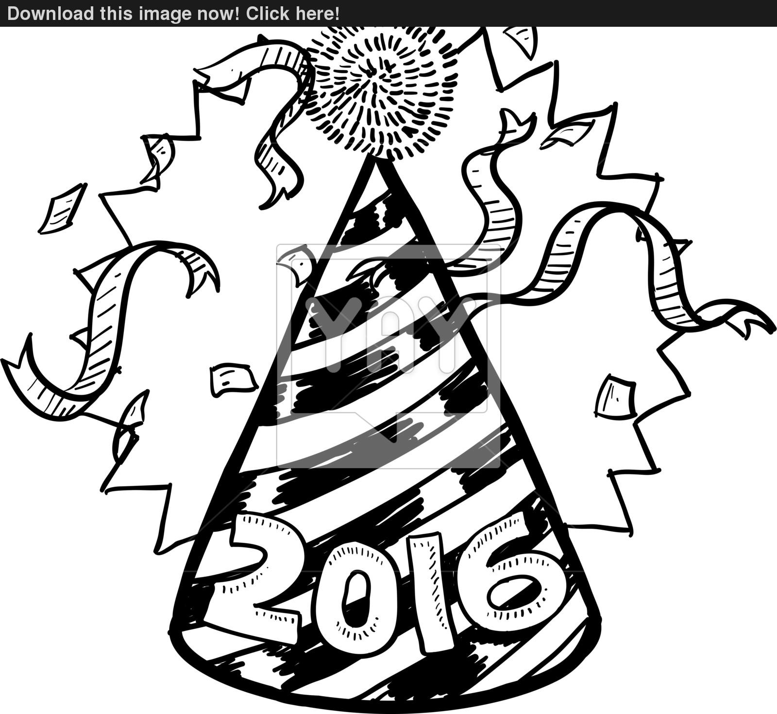 1600x1469 Party New Year Drawings Merry Christmas Amp Happy New Year 2018 Quotes