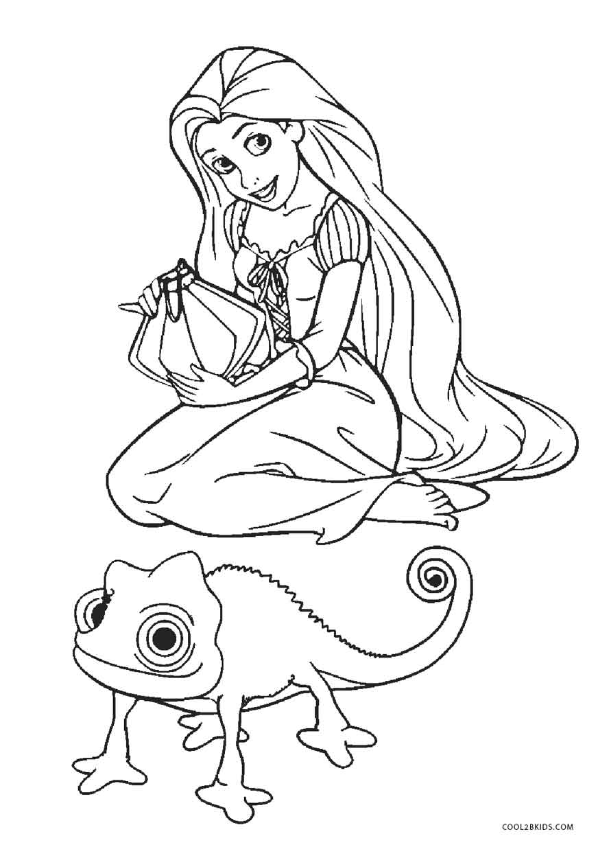 872x1234 Free Printable Tangled Coloring Pages For Kids Cool2bkids