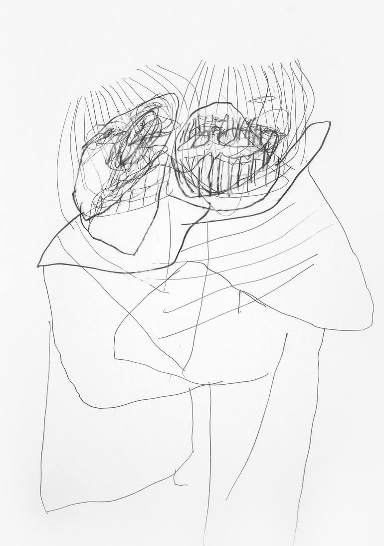 770x1094 Saatchi Art Trollduett (Troll Duet) Drawing By Tamburyn Aka
