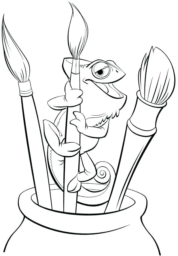 618x885 Unique Tangled Coloring Pages Printable For Tangled Coloring Pages