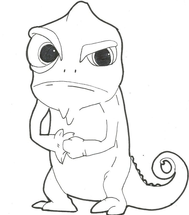 791x900 Coloring Pages Remarkable Tangled Page Pascal And Friends