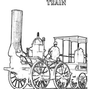 300x300 Coloring Pages Passenger Train Best Of Steam Lo Otive Coloring