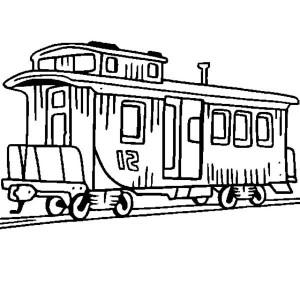 300x300 Electric Train On Railroad Coloring Page Color Luna