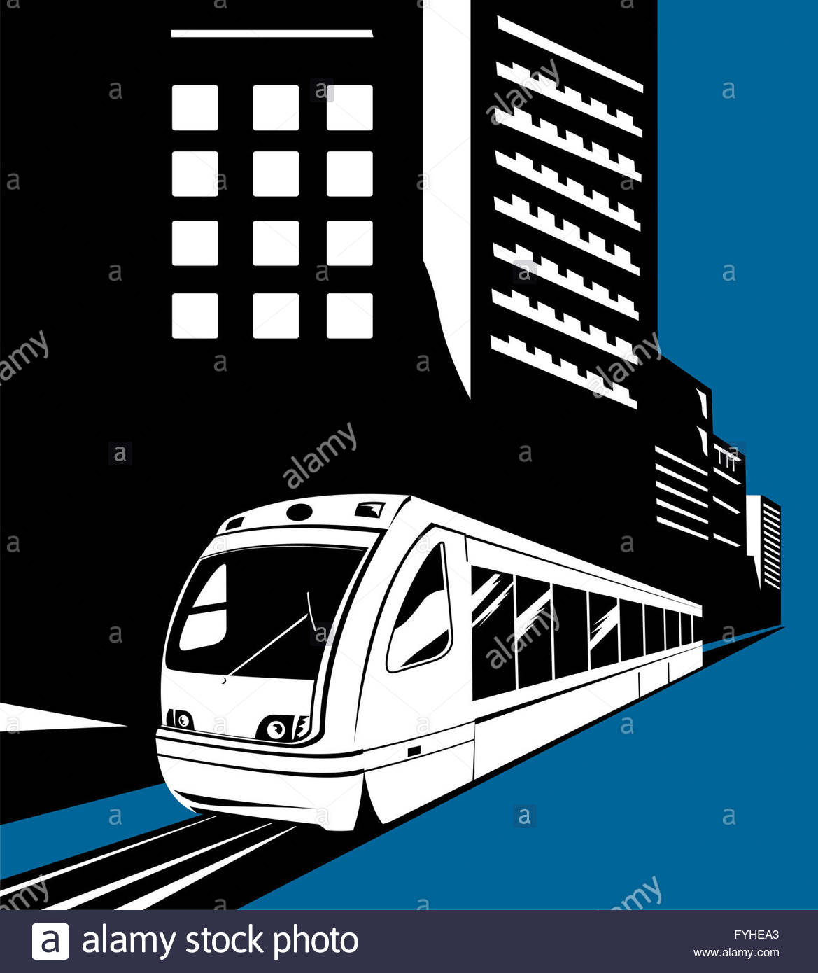 1169x1390 Electric Monorail Passenger Train Stock Photo, Royalty Free Image
