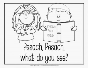 300x232 Free Printable Coloring Pages For Passover