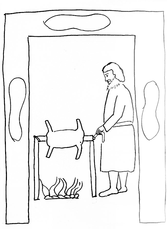 651x890 Bible Story Coloring Page For The Passover Free Bible Stories