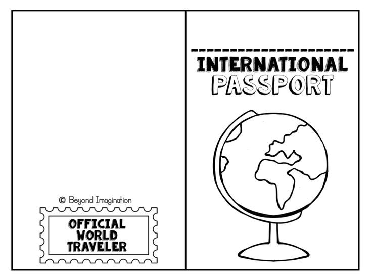 736x552 Free International Passport For Kids To Use And Play