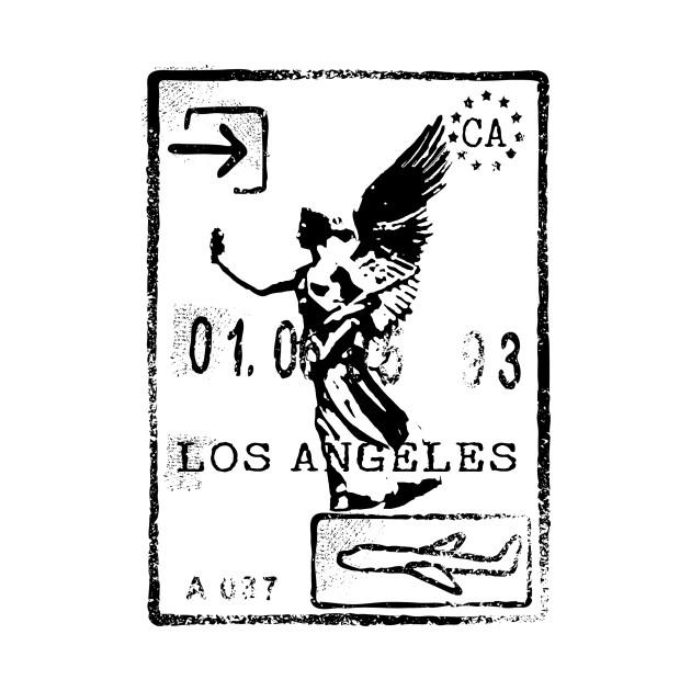 630x630 Los Angeles Passport Stamp