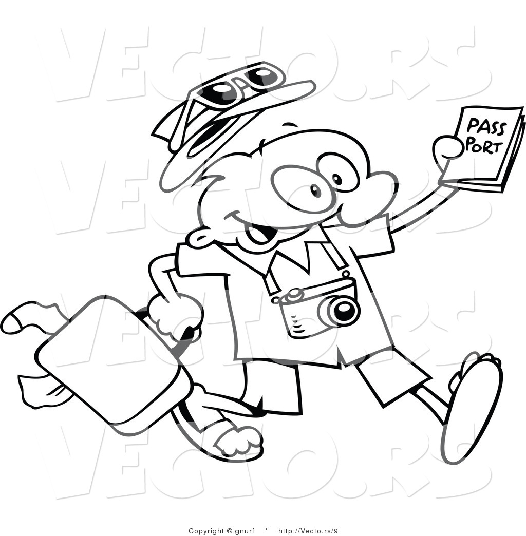 1024x1044 Passport Coloring Page