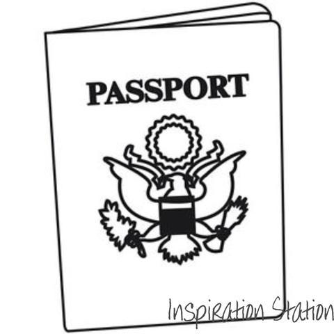 480x480 Passport Embossing Folder By Darice Embossing Folders 1218 15