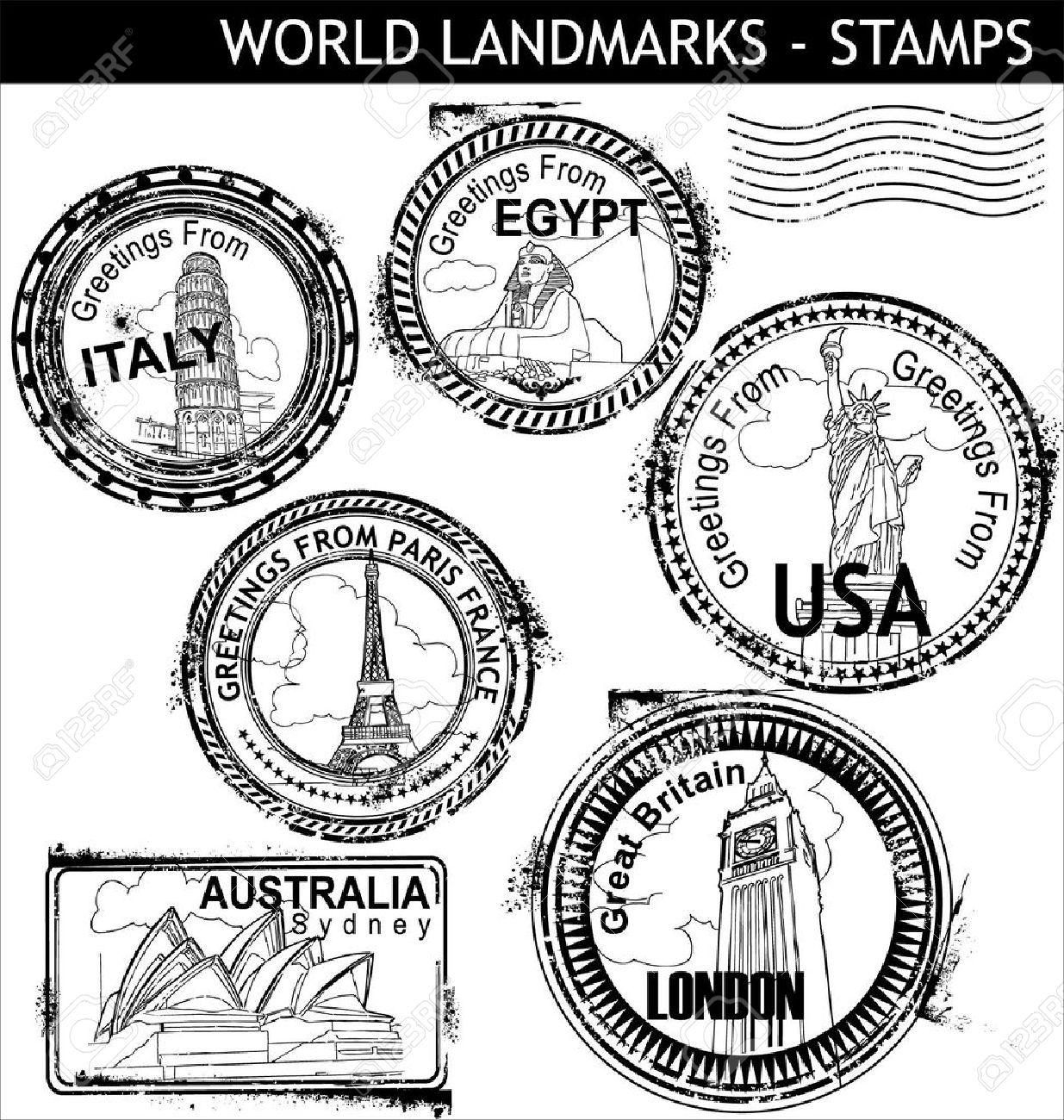 1235x1300 Stamp Clipart Us Passport