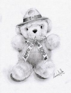 236x307 50 Amazing Pencil Drawings Teddy Bear, Drawings And Bears
