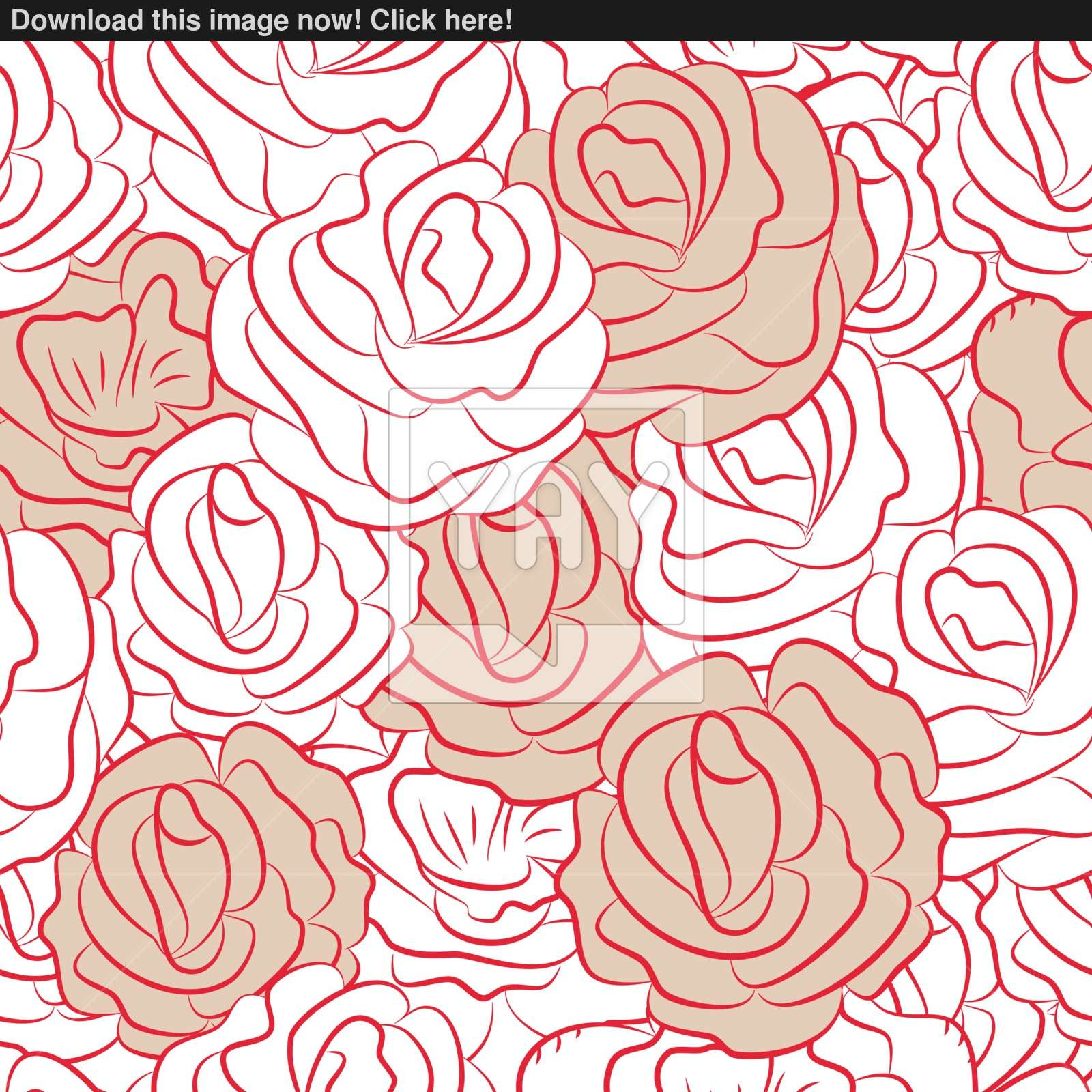 1600x1600 Elegant Flowers Seamless Pattern. Vector Illustration In Pastel