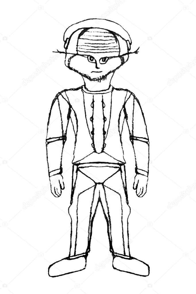 682x1023 Alien Astronaut Cartoon Drawing Stock Photo Danflcreativo