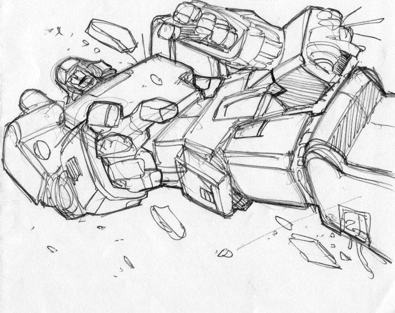 813x644 Pat Lee Transformers Megatron, In Justin Kleimann's Transformers