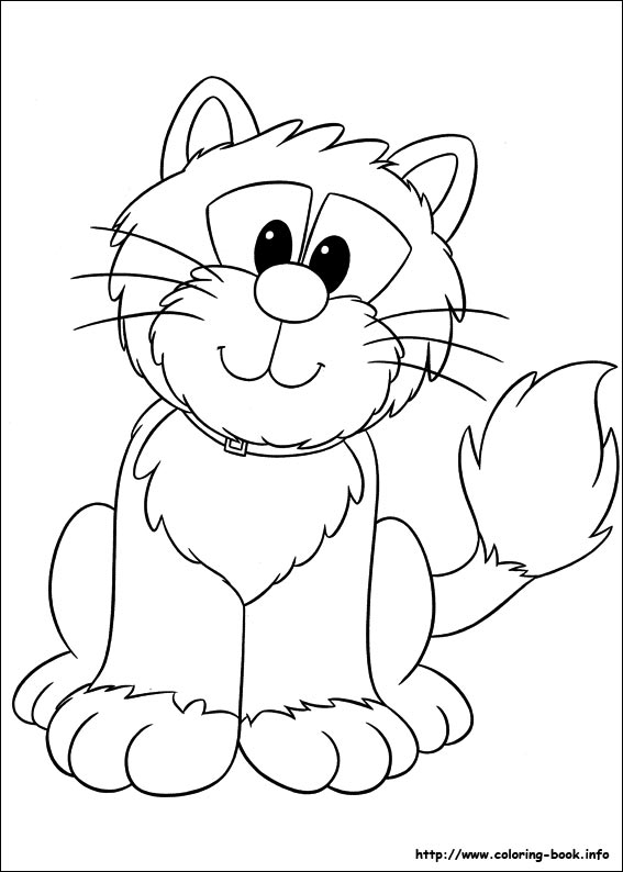 567x794 Pat Coloring Picture
