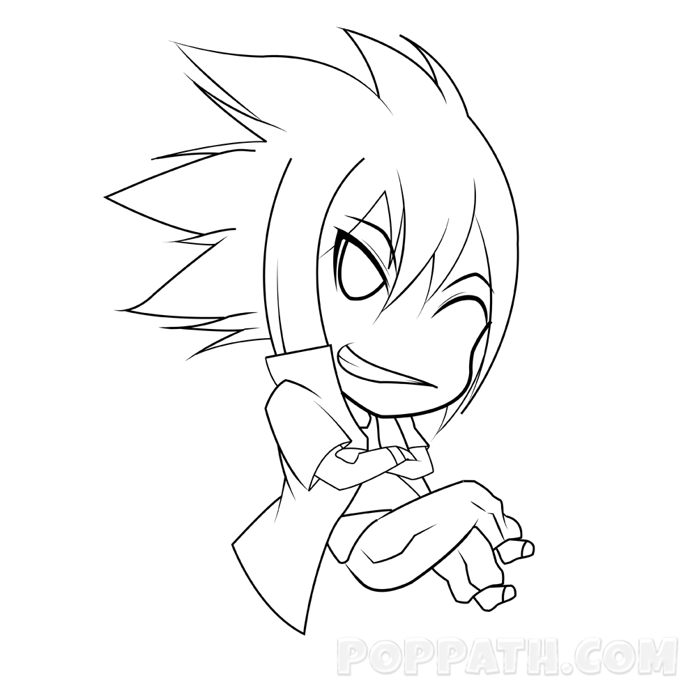 1000x1000 How To Draw A Chibi Boy How To Draw A Chibi Boy Pop Path