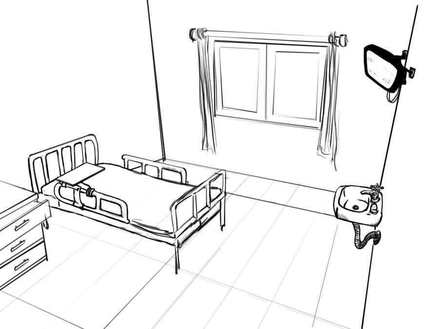900x675 Hospital Room By Tsu Gambler