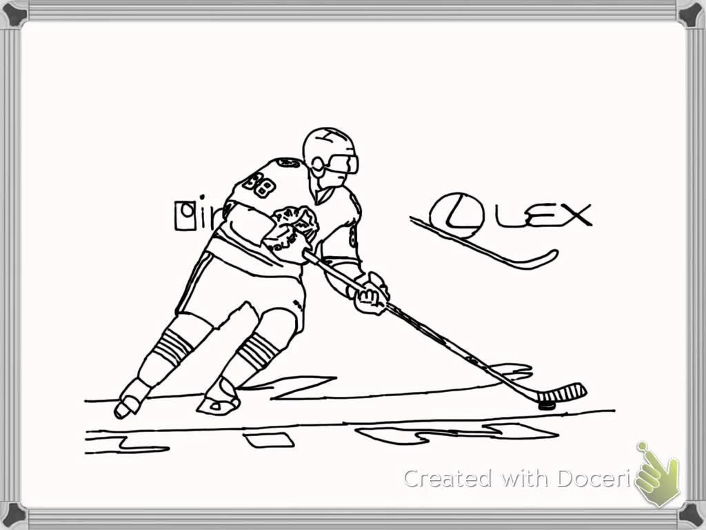 1024x768 Patrick Kane Speed Art Drawing