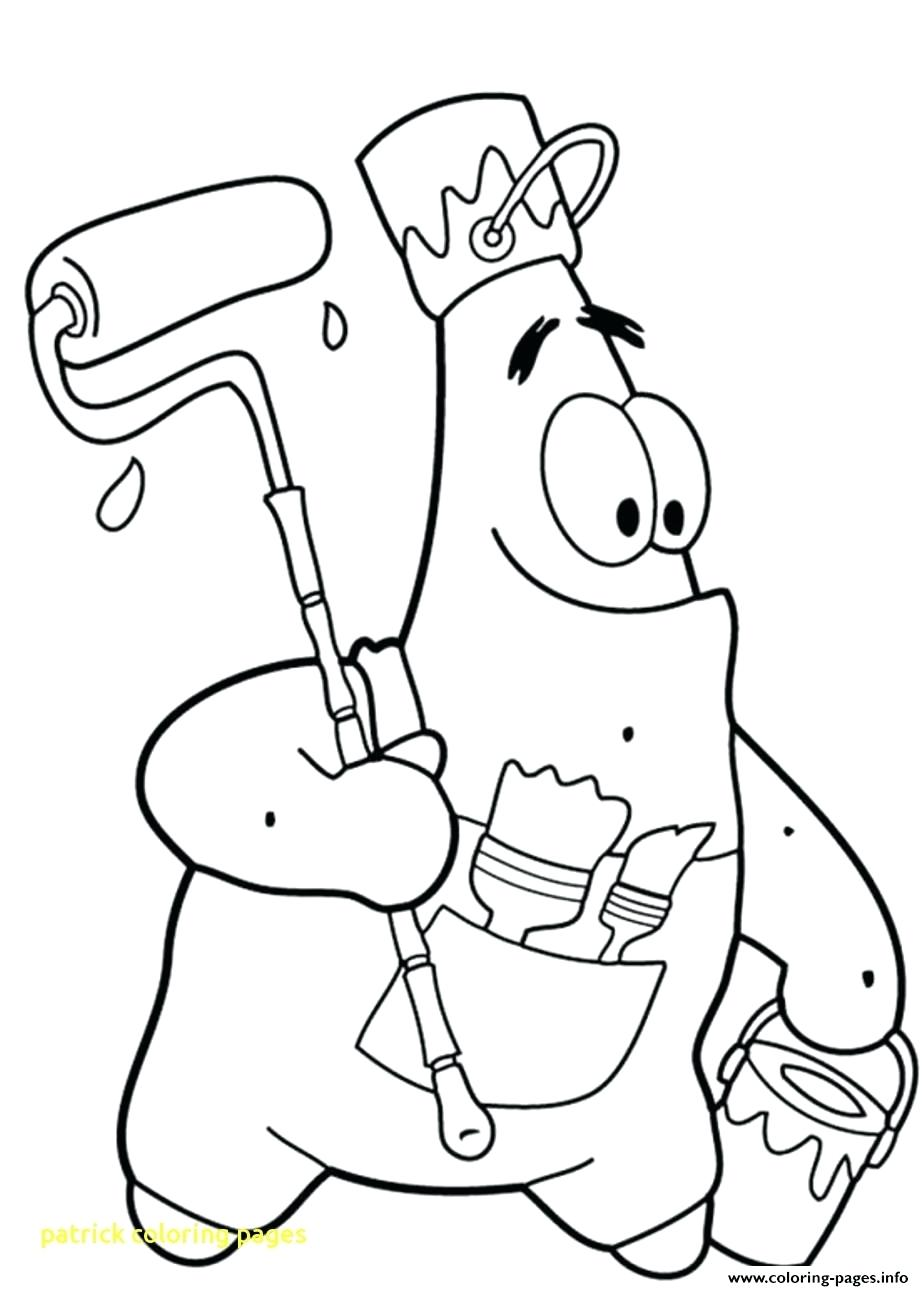 924x1291 Coloring Patrick Coloring Page