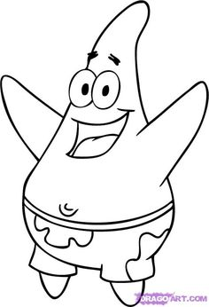 236x346 How To Draw Patrick Star From Spongebob Squarepants