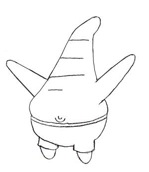 300x346 How To Draw Patrick