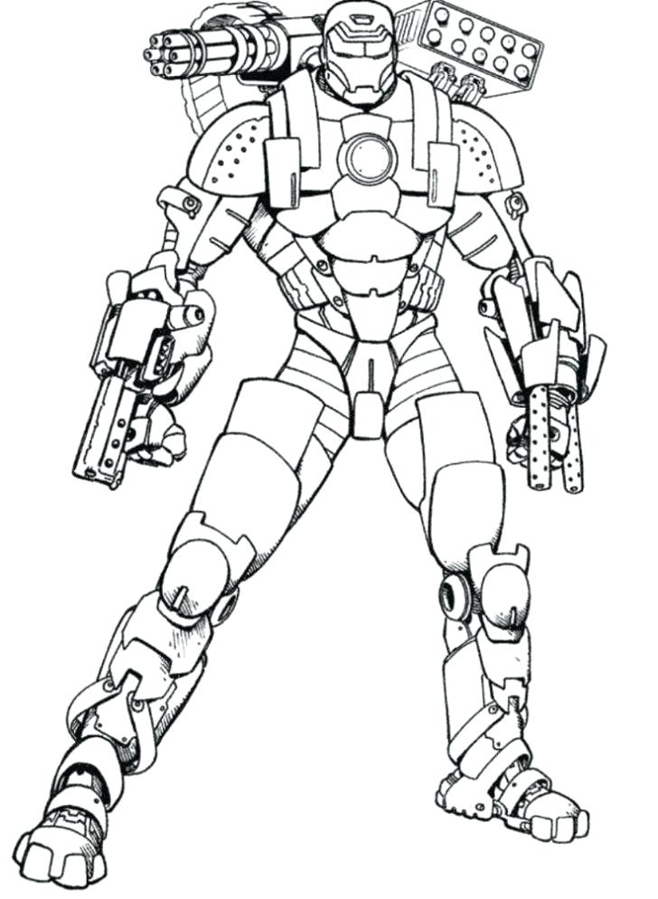 728x994 Iron Man Coloring Book As Well As Iron Patriot Coloring Pages Iron