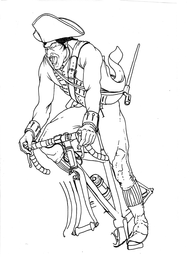 612x842 Mended Arrow Design Blog Paul Revere On A Bike!!