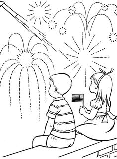 236x321 Get Patriotic With This Fourth July Coloring Page! Fourth