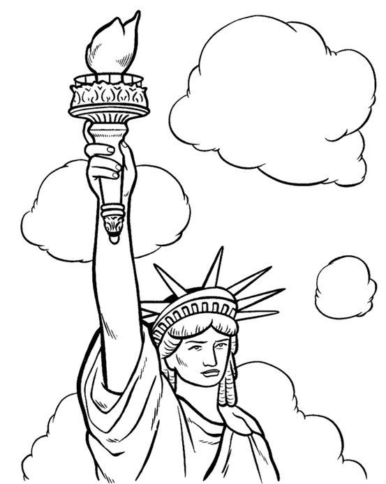 553x694 How Tall Is The Statue Of Liberty And Why Is It Green Fun