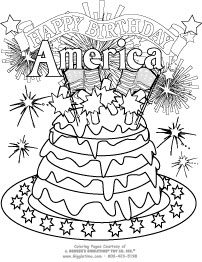 202x262 Patriotic Coloring Pages