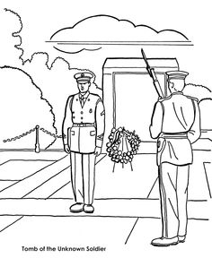 236x288 Patriotic Coloring Pages Veterans Day. Memorial Day Coloring Pages